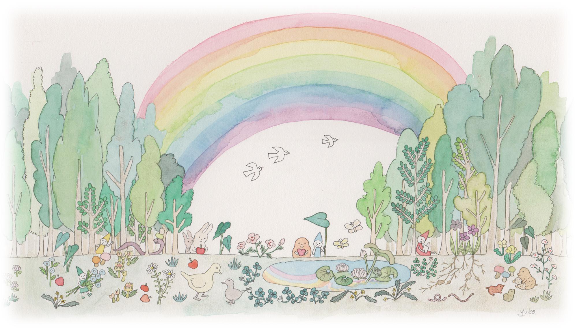 三上かおりの虹の森